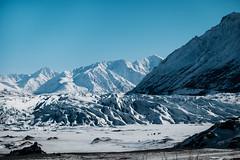 Matanuska Glacier-1 (WorbJay) Tags: alaska glacier blue winter snow ice mountains hike white