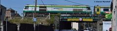 223 crosses the Mountmellick Bridge, 25/3/17 (hurricanemk1c) Tags: railways railway train trains irish rail irishrail iarnród éireann iarnródéireann portlaoise 2017 generalmotors gm emd 201 223 1100heustoncork