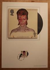 David Bowie - Aladdin Sane - Royal Mail Album Picture (Darren...) Tags: