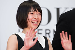 "Ririka from ""flowering"" at Opening Ceremony of the Tokyo International Film Festival 2016"