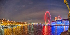 London Eye (W.R. van Straalen) Tags: view from westminster bridge over river thames a99 minolta16mm 2017 march