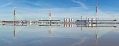 Mersey Gateway (Tim Furfie) Tags: bridge mersey river reflection water gateway construction runcorn widnes halton
