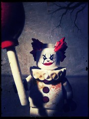 IT (LegoKlyph) Tags: lego custom horror pennywise clown evil monster king dark deadlights scary kids balloons blood