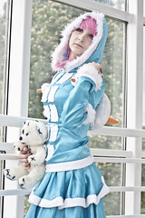 League of Legends (Xubaet) Tags: winter snow girl costume animefest cosplay rosa tschechien arctic brno convention polar czechia brnn 2013 cosplaying cosplaygirl leagueoflegends af13 frostfireannie