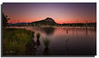 You can't wait for inspiration. You have to go after it with a club. (Christolakis) Tags: longexposure sunrise landscape australia deadtree queensland lakemoogerah mtgreville 1740f40l canon5dmklll
