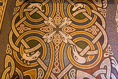 Mosaic Detail (gamelaner) Tags: ireland mosaic cork ucc celtic countycork honanchapel