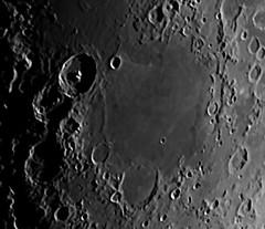 Mare nectaris (Rob Wilsdon) Tags: moon canon eos space may telescope astrophotography lunar solarsystem 120mm refractor skywatcher 2013 60d evostar