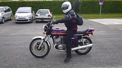 Kawasaki 750 H2 - vido (gueguette80) Tags: old bike japanese mai moto h2 kawasaki picardie motorrad 750 somme anciennes japonaises 2013 hebecourt