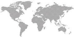 Download dotted world map Vector For Free! (Freevectorzone) Tags: world ocean africa sea usa signs canada abstract art america island globe education asia europe pacific earth country nation australia antarctica science surface atlantic dotted international sphere cartography planet land atlas geography symbols dots continent global oceania vectoricons mapvector
