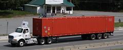 Salt Spring Freight (West Coast Motorhead) Tags: truck semi rig sterling