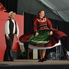 Hungarian folk dancers at the Danu…