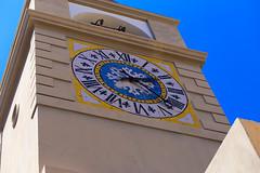 Capri Town Clock (Dave Coleman.) Tags: capri sorrento