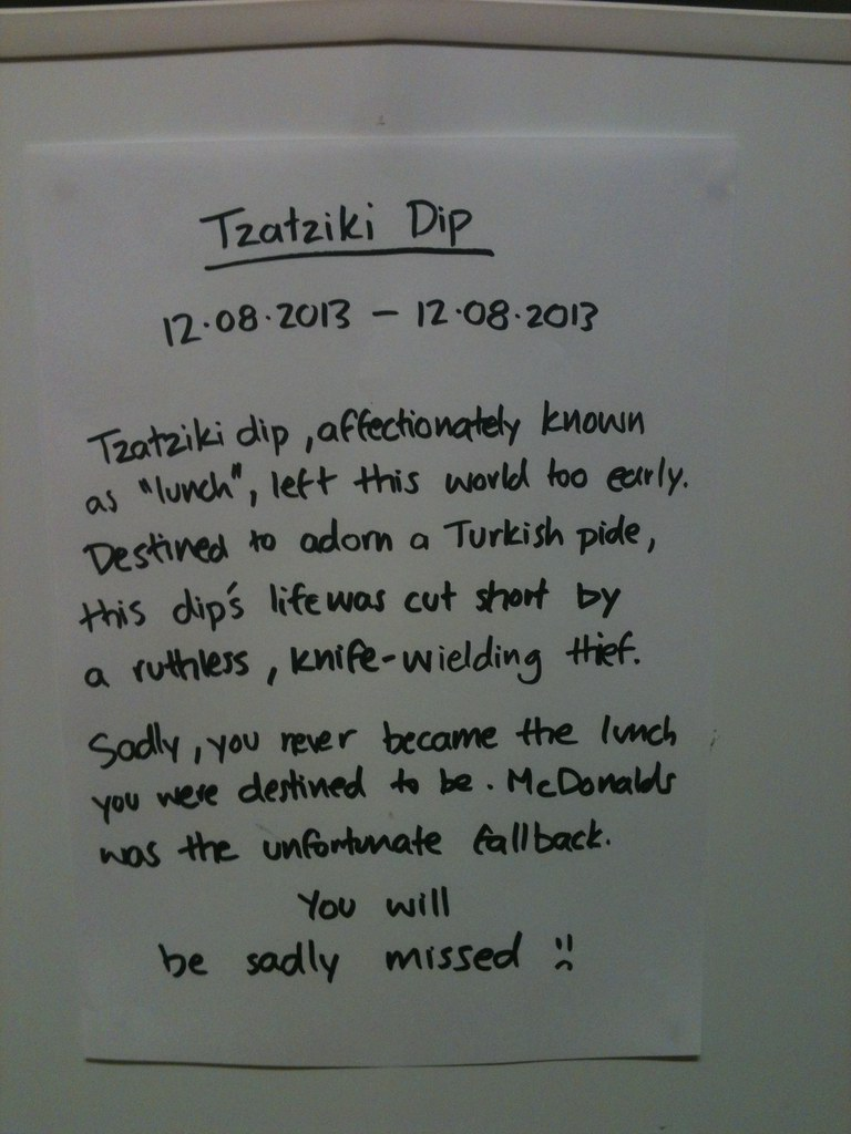 Tzatziki dip 12.08.2013-12.08-2013  Tzatziki dip, affectionately known as