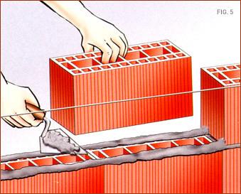 bloques de ladrillos huecos