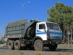 Kamaz 55111 6x4 1992 (RL GNZLZ) Tags: trucks camiones kamaz dumpertruck 55111