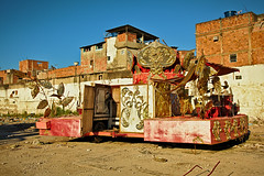 The Abandoned #3 (Clément Jacquard) Tags: brazil abandoned riodejaneiro canon factory streetphotography carnaval allegory favela wasteland