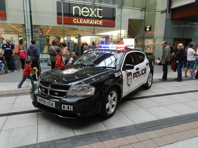 police policecar portsmouth gunwharfquays dodgeavenger ny08usa dodgecitypolicedept