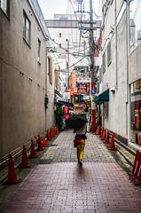 Kobe Side Street (inefekt69) Tags: temp travel japan japanese nikon asia kobe  nippon fareast nihon ropeway  d5100