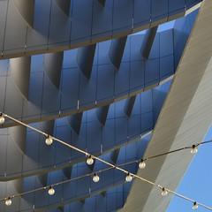 The Cartesian X (TheManWhoPlantedTrees) Tags: lamps blue sky metal nikond3100 tmwpt vilareal x dolcevitadouro promontório bsquarecontest