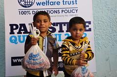 Qurbani 2013 in Palestine (Ummah Welfare Trust) Tags: poverty islam eid smiles relief muslims
