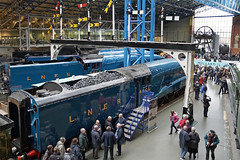 A4 'The Great Gathering' - National Railway Museum, York (Neil Pulling) Tags: york uk museum yorkshire railway steam a4 sciencemuseum nrm nationalrailwaymuseum steamlocomotive lner gresley uksteam a4pacific a4greatgathering yorka4