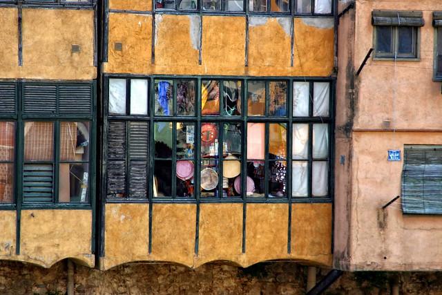 GIRONA_Casas en el Onyar