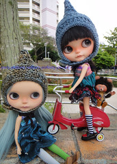 Sadako and LittleMii