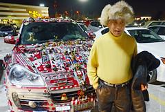 Porsche Cayenne (fotofrysk) Tags: decorations ontario canada parkinglot cayenne porsche suv owner markham geegaws markvilleshoppingcentre nikond7000 garyying