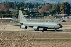 KC-135R from the 155th Air Refueling Wing (JeffSFO) Tags: moffettfield airnationalguard unitedstatesairforce nuq kc135r 10276 cfm56 0276 aerialtanker knuq nebraskaairnationalguard 155tharw f108cf100