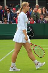 The 127th Championships Wimbledon 2013 - Sabine Lisicki (Ger) (Andy2982) Tags: tennis wimbledon bah doubles ger firstround ind svk danielahantuchova maheshbhupathi allenglandlawntennisclub markknowles sabinelisicki court6 the127thchampionshipswimbledon2013
