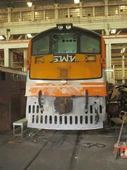 SRT's GEK 4041 (Barang Shkoot) Tags: electric thailand asia general loco coco thai locomotive siam gauge narrow gek workshops shovelnose