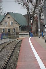 Kudowa-Zdrj train station 15.12.2013 (szogun000) Tags: railroad station canon track poland polska rail railway bumper signal platforms pkp lowersilesia dolnolskie dolnylsk kudowazdrj canoneos550d canonefs18135mmf3556is d29309