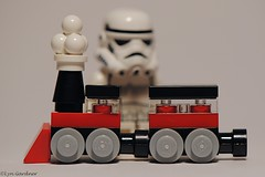 Advent day 21 train (LynG67) Tags: christmas train advent lego stormtrooper minifigs minifigures 2013
