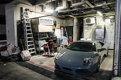 Close to extinction (Zen Balboni) Tags: photography grey singapore doors gray scissors exotic zen lamborghini supercars murcielago v12 lambo balboni lp640