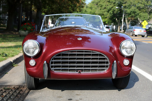 ny beautiful maroon ace exotic parked 1991 grille ac spotting amagansett roadster eggcrate inlinesix