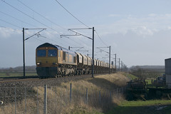 66706 Claypole (MS Rail Photos) Tags: crossing nottinghamshire eastcoastmainline claypole ecml balderton 66706
