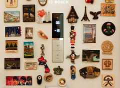 Trips (Viajes) (Andrés Guerrero) Tags: fridge magnets viajes trips magnet frigorífico proyecto foto7 nevera imanes imán proyecto365