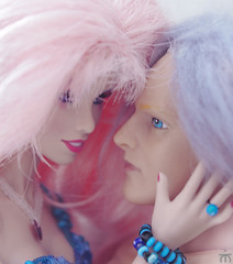 . (Elina-Doll) Tags: toys dolls and jem puppen haare integrity the holograms rosafarbene