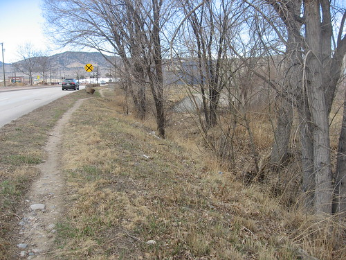 Photo - Pearl Parkway Multiway Boulevard and Multi-use Path (Before)