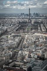 Paris Skyline (Tour Montparnasse) (Jrme Cousin) Tags: paris france tower skyline de nikon tour terrasse ile eiffel 28 75 montparnasse panoramique 2470 paname tarmon d700