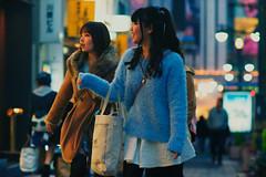 Look at That... (OzGFK) Tags: street girls people beautiful japan tokyo nikon women asia pretty shibuya d800