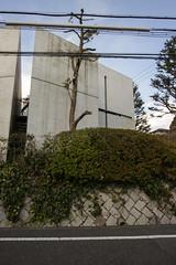 Church of the Light (1) (evan.chakroff) Tags: church japan osaka 1998 1989 ibaraki ando tadao sundayschool ksa churchofthelight osakaprefecture evanchakroff chakroff 19891998 ksajapan2013 tadaoando1989