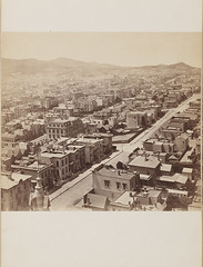 Panorama of San Francisco from California St. Hill. [Panel 10] (SMU Central University Libraries) Tags: houses streets buildings citylife cities mansions uswest hopkinsmark18171878
