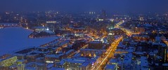 winter night in ekaterinburg (Sergey S Ponomarev) Tags: city winter light snow nature water night canon landscape cityscape russia outdoor pov ngc neve ekaterinburg viewpoint inverno hdr citta ural yekaterinburg urals 600d 24105l екатеринбург sergeyponomarev сергейпономарев