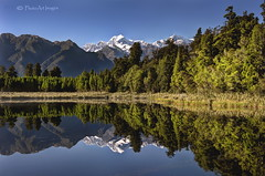 Pristine reflections (PhotoArt Images) Tags: lake mtcook lakematheson aoraki snowcappedmountains photoartimages pristinereflections