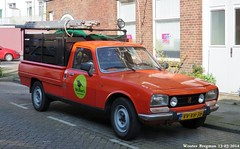 Peugeot 504 pick up 1987 (XBXG) Tags: auto old france classic netherlands up car vintage french automobile utrecht 1987 nederland pickup voiture van pick paysbas peugeot 504 ancienne wolkers peugeot504 franaise utilitaire bestelwagen bache klussenbedrijf vvvh36