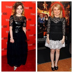 Head Swap: Arianna Huffington and Jane Levy (Carter Travels) Tags: post jane head age swap arianna headswap huffington levy f2f suburgatory ageswap