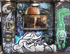Fitzroy Mural (wiredforlego) Tags: streetart graffiti mural au fitzroy australia melbourne mel urbanart