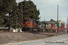 Stack train Topaz_001 (Walt Barnes) Tags: railroad train canon eos engine rail cargo richmond calif container railcar transportation locomotive ge hdr freight bnsf topaz generalelectric trackside rollingstock dieselelectric c449w streetshoot 60d canoneos60d topazadjust eos60d wdbones99
