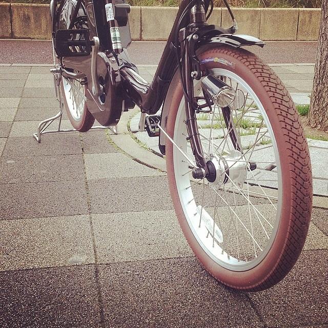 ... 自転車 #ギュットミニdx #panasonic